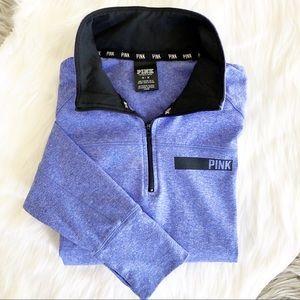 PINK Victoria's Secret Qtr Zip Athletic Pullover